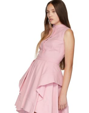 photo Pink Ruffle Dress by Alexander McQueen - Image 4