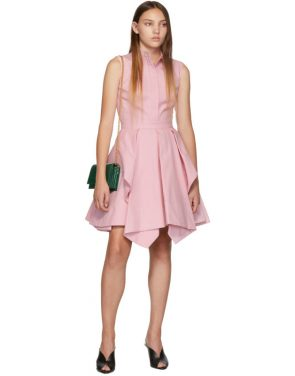 photo Pink Ruffle Dress by Alexander McQueen - Image 5