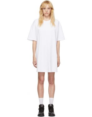 photo White Elastic Back Dress by Opening Ceremony - Image 1