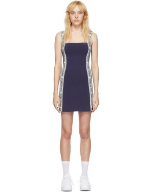 photo Navy Logo Mini Dress by Opening Ceremony - Image 1