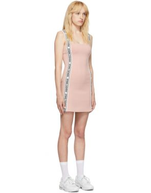 photo Pink Logo Mini Dress by Opening Ceremony - Image 2