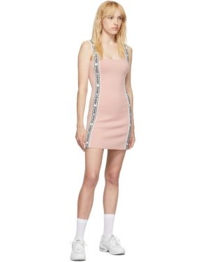 photo Pink Logo Mini Dress by Opening Ceremony - Image 5