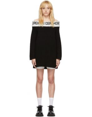 photo Black Off-The-Shoulder Dress by Opening Ceremony - Image 1