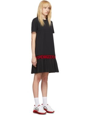 photo Black OC Logo T-Shirt Dress by Opening Ceremony - Image 2