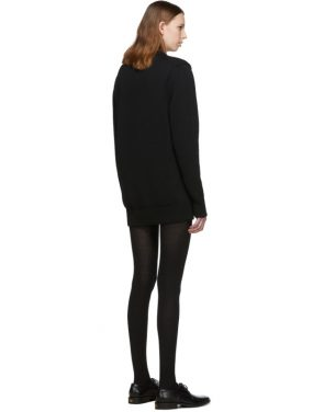 photo Black and Red Logo Crewneck Dress by Givenchy - Image 3