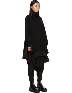 photo Black Turtleneck Dress by Regulation Yohji Yamamoto - Image 2