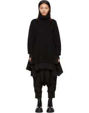 photo Black Turtleneck Dress by Regulation Yohji Yamamoto - Image 1