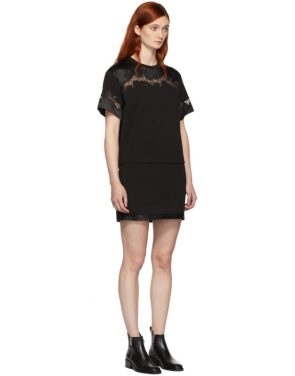 photo Black Lace Insert T-Shirt Dress by 3.1 Phillip Lim - Image 2