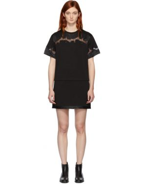 photo Black Lace Insert T-Shirt Dress by 3.1 Phillip Lim - Image 1