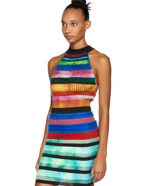 photo Multicolor Halter Dress by AGR - Image 4