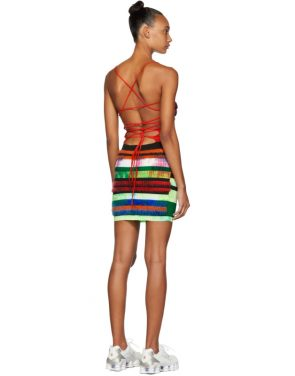 photo Multicolor Strap Dress by AGR - Image 3