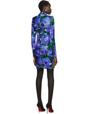 photo Blue Floral Dress by Richard Quinn - Image 3