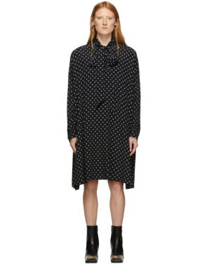 photo Black BB Vareuse Dress by Balenciaga - Image 1