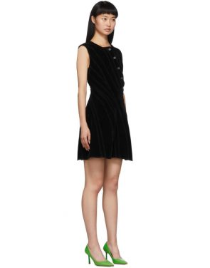 photo Black Spiral Dress by Mugler - Image 2
