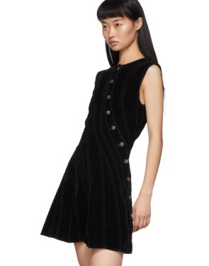 photo Black Spiral Dress by Mugler - Image 4