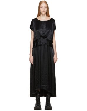 photo Black Tiriel Dress by Ann Demeulemeester - Image 1