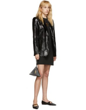 photo Black Logo Dress by Versace - Image 5