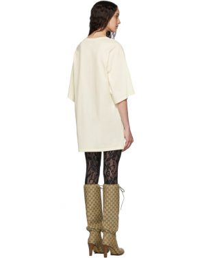 photo Off-White Oversized T-Shirt Dress by Gucci - Image 3