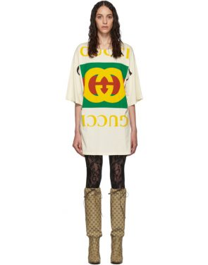photo Off-White Oversized T-Shirt Dress by Gucci - Image 1