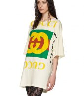 photo Off-White Oversized T-Shirt Dress by Gucci - Image 4