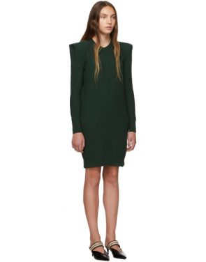 photo Green Wide Shoulder Dress by Stella McCartney - Image 2