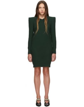 photo Green Wide Shoulder Dress by Stella McCartney - Image 1
