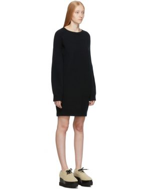 photo Black Simple Sweater Dress by Stella McCartney - Image 2