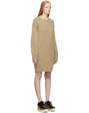 photo Beige Simple Sweater Dress by Stella McCartney - Image 2