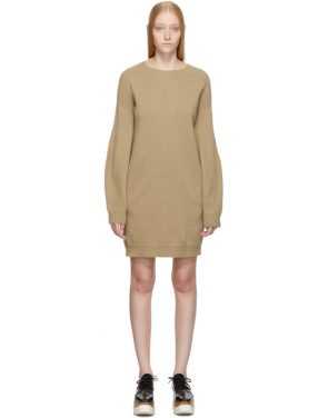 photo Beige Simple Sweater Dress by Stella McCartney - Image 1