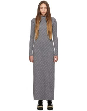 photo Grey Monogram Dress by Stella McCartney - Image 1