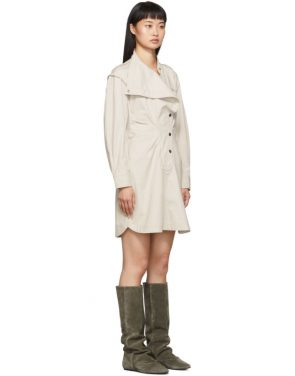 photo Off-White Linore Dress by Isabel Marant Etoile - Image 2