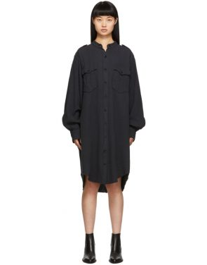 photo Black Jasia Dress by Isabel Marant Etoile - Image 1
