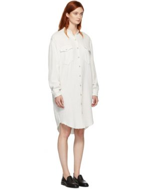 photo White Jasia Dress by Isabel Marant Etoile - Image 2