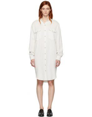 photo White Jasia Dress by Isabel Marant Etoile - Image 1