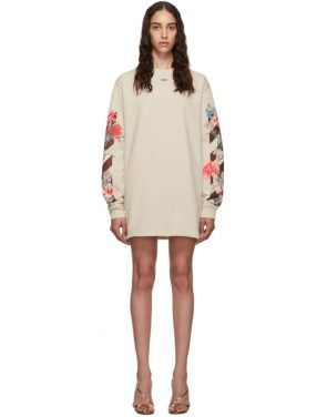 photo Flowers Dress by Off-White - Image 1