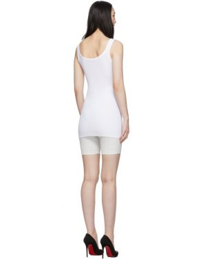 photo White Buttoned Up Mini Dress by Off-White - Image 3