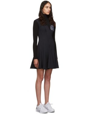 photo Navy and Black Cheerleaders Multiwaves Dress by Off-White - Image 2