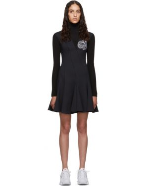 photo Navy and Black Cheerleaders Multiwaves Dress by Off-White - Image 1