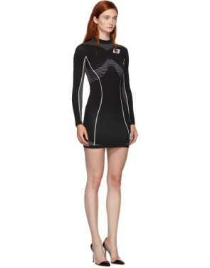 photo Black Athletic Long Sleeve Dress by Off-White - Image 2