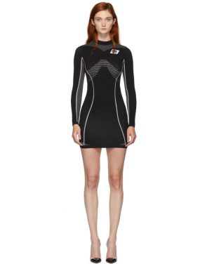 photo Black Athletic Long Sleeve Dress by Off-White - Image 1