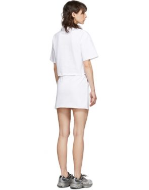 photo White Happy Birthday T-Shirt Dress Set by VETEMENTS - Image 3