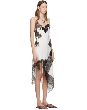 photo White Lace Slip Dress by Marques Almeida - Image 2