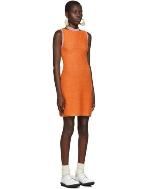 photo Orange Clavicle Dress by Eckhaus Latta - Image 2
