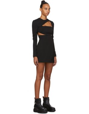 photo Black Cut-Out Dress by 032c - Image 2