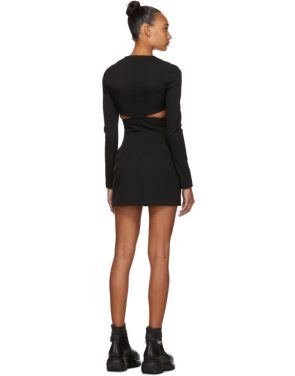 photo Black Cut-Out Dress by 032c - Image 3