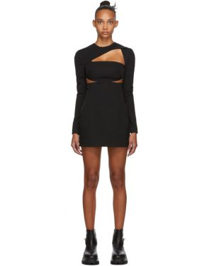 photo Black Cut-Out Dress by 032c - Image 1