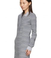 photo Grey Stripe Polo Dress by Y/Project - Image 4