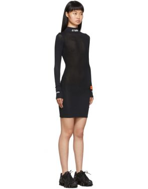 photo Black Style Turtleneck Dress by Heron Preston - Image 2