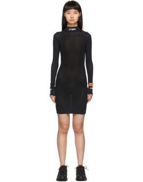 photo Black Style Turtleneck Dress by Heron Preston - Image 1