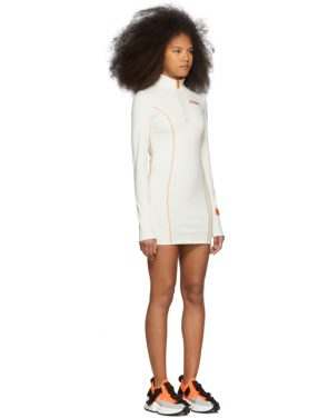 photo White and Orange Style Active Dress by Heron Preston - Image 2